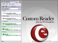 Custom Reader screenshot
